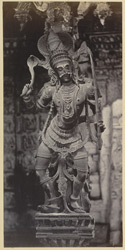 Carved figure in Tinnevelly [Tirunelveli] Pagoda.